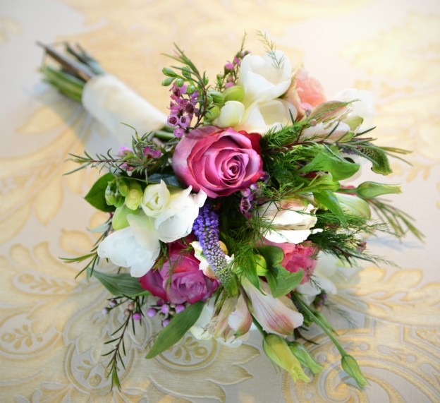 Vintage Irish Wedding Bouquet Ideas