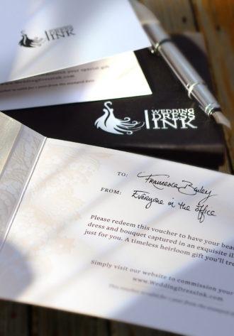 Gift Voucher from Wedding Dress Ink