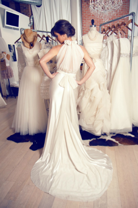 Average spend on a wedding dress is €1,570. Courtesy of Vera Wang on Pinterest & bigrocklittlerooster.com
