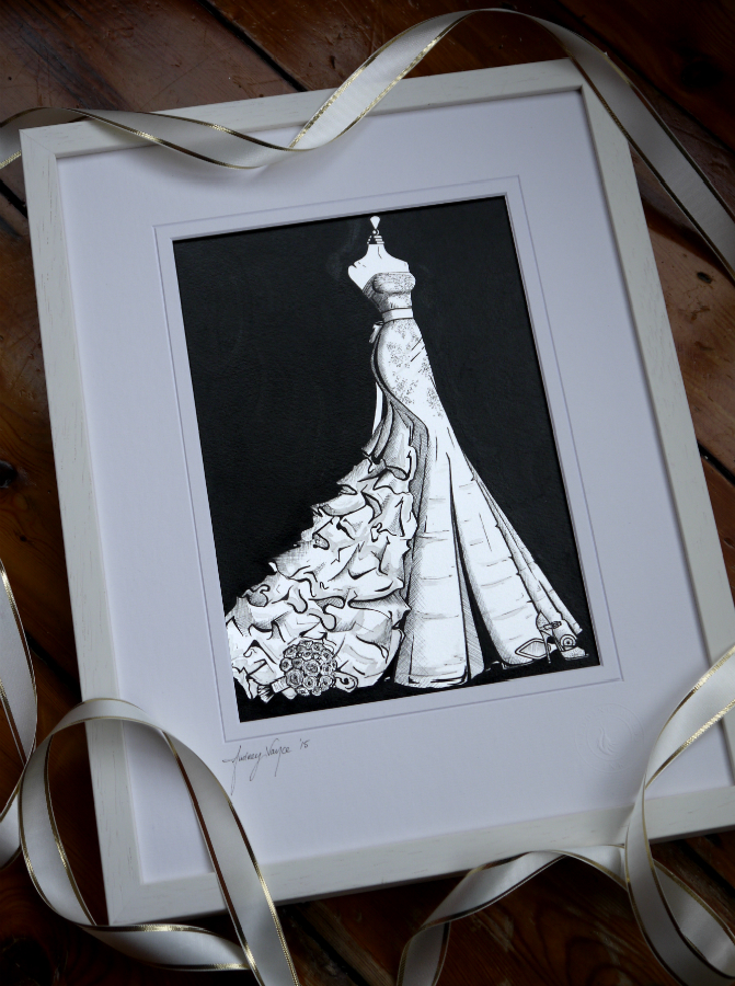 Vera Wang by Wedding Dress Ink 'Georgina'