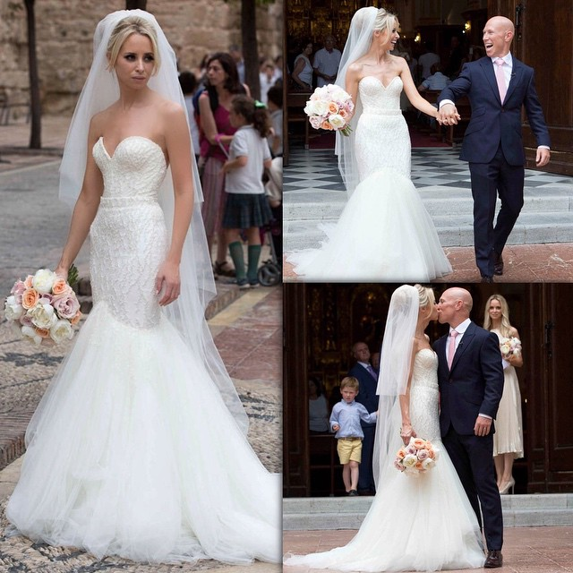 Peter and Debbie Stringer wedding