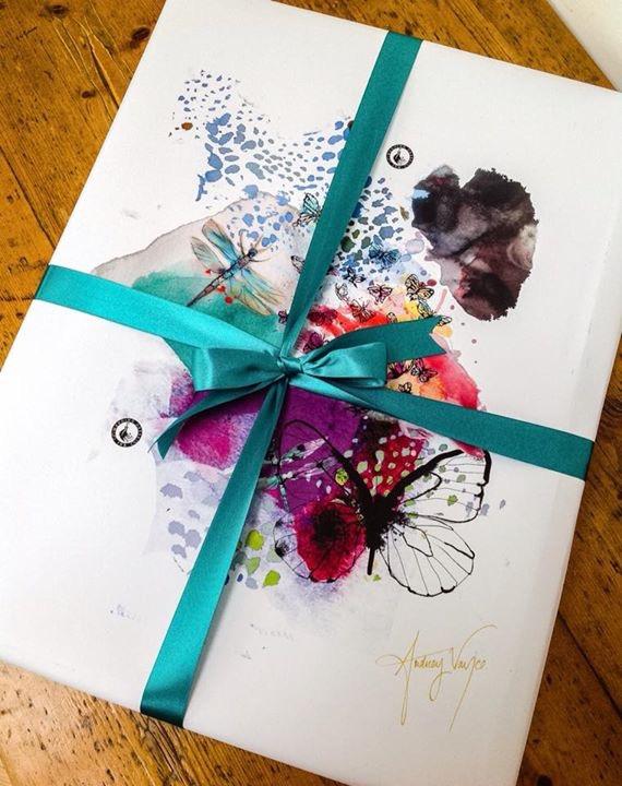 Custom packaging for Wedding Dress Ink