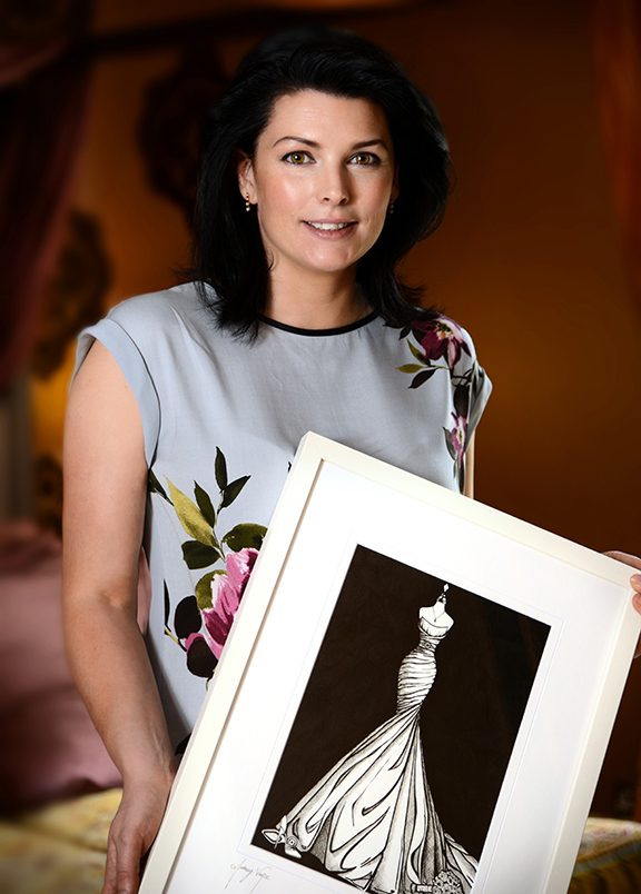 Audrey Vance, Wedding Dress Ink