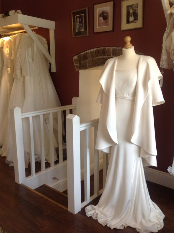 Alice May shop interior, stockiest of Wedding Dress Ink
