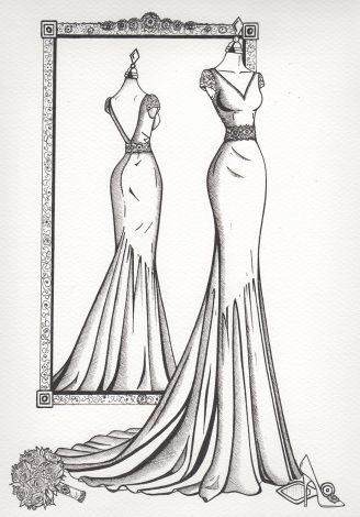 WDI product images - Mirror View Sketch