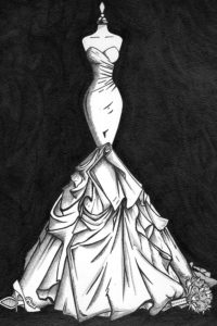Wedding_Dress_Ink_Painting_2