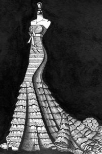 Wedding_Dress_Ink_Painting_4