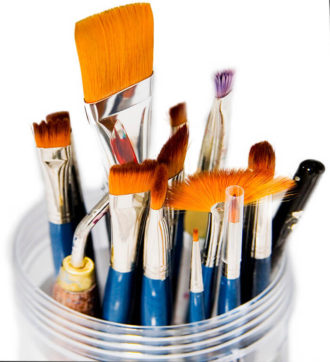 Bottom_left hand corner_of_brushes_in_jar